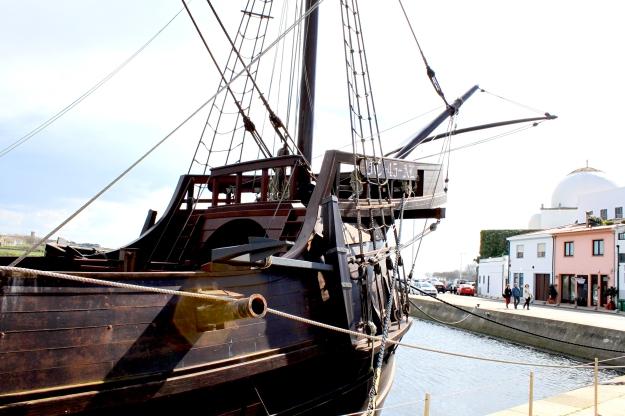"Canon de tribord de la ""Nau"". ©Photo Sylviane Falcinelli"